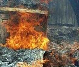 huts of 285 dalits set on fire by mob in tamil nadu