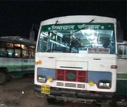 buses will not run tomorrow after 4 pm in himachal
