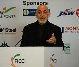 karzai invited indian businessmen to investment in afghanistan
