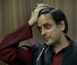 tharoor goes on trial of disrespecting national anthem