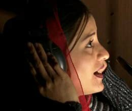 Afghanistan's first female rap singer