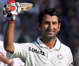 pujara dominates on first day in mumbai test