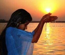 chhath festival teaches serve the elderly