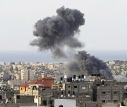 israel air strikes on hamas headquarters