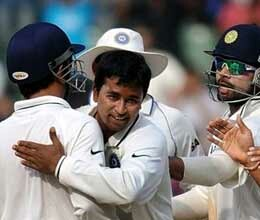 england forced to play on as ojha scalps five