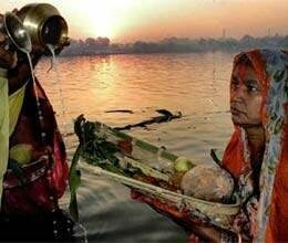 with pray of rising sun chhath pooja concludes