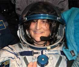 Sunita Williams returned to Earth from space