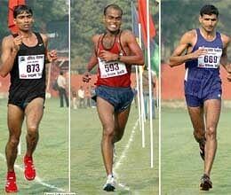 arvind hat trick in all india indira marathon prize money