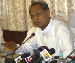 Gehlot announces scholarship for students