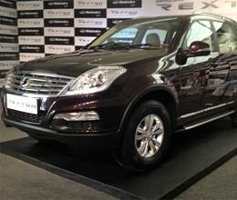ssangyong rexton launched in 7 cities