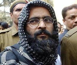 afzal guru see hanging of kasab on tv