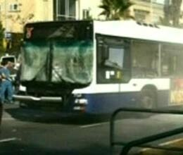 terrorist attack on bus in tel aviv