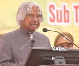 youth progress being affected by topper race says kalam