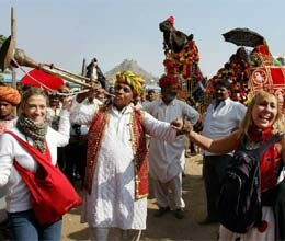 6.31 million foreign tourists arrived india in 2011