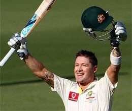 michael clarke keen to cash in at south africa expense