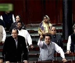 uproar in parliament over gujarat gas deal