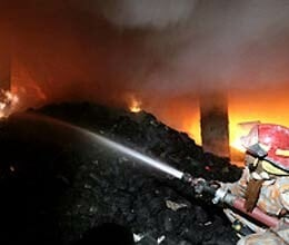 fire in bangladesh garment factory , 120 killed