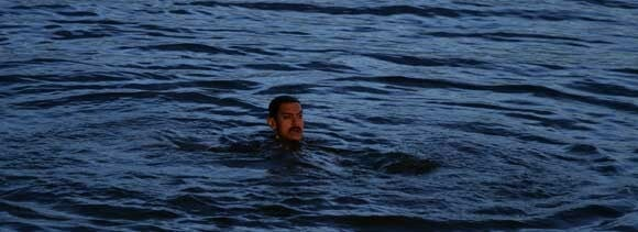 aamir learn swimming for talaash
