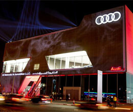 Audi opens world's biggest audi dealership in Dubai