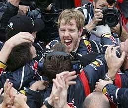 vettel became brazilian grand prix champion