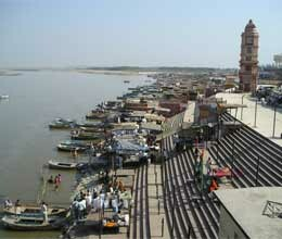 preparation for main ganga snan is not complete