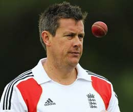 ashley giles replaces flower as england odi coach