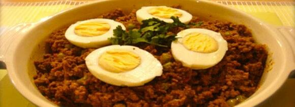 keema egg curry