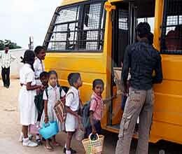 administration strict on school buses in gurgaon