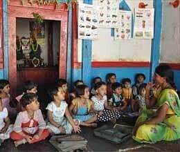 increase in amount of anganwadi centers in bihar