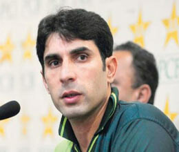 aggression positive mindset must against india saus misbah