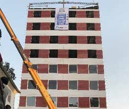 wonder in mohali, building has been completed in 48 hours