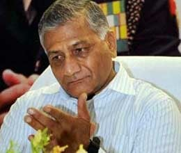 taken back to safety of former army chief vk singh