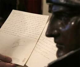 napoleon 200 year old letter auctioned