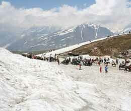 don't spend night in rohtang due to low temperature