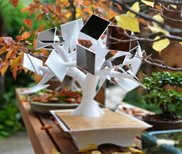 Now, solar-powered bonsai to charge your mobile