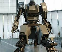4 metre robot cost 4 crore pilot seat remote control