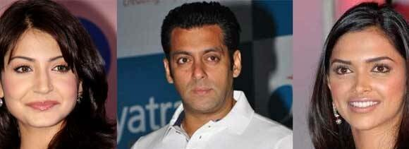 anushka and deepika wants to film with salman