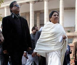 sp and bsp walk out of parliament ahead of vote on fdi
