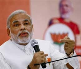 upa lacks spine to stand up to malik remarks says modi