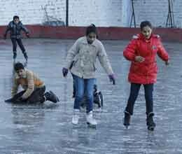 enjoy ice skating at rs. 100