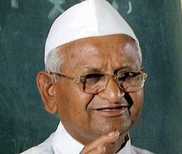 anna hazare admitted to hospital under intensive care