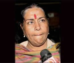 woman mp prabha thakur tears in rs