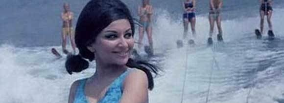 sharmila- Seeming shy, in gestures roguishness