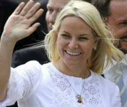 princess of norway became nanny in india ?