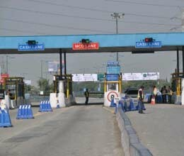 instead of repairing large-scale preparation of toll collection
