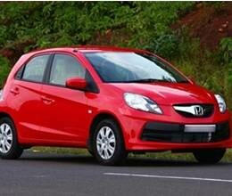 comfortable driving with honda brio at