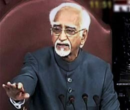 dispense with question hour says hamid ansari