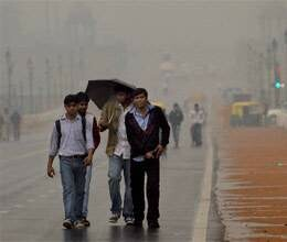 drizzle increased cold in north india