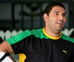 happy birthday to indian cricketer yuvraj singh