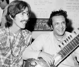 george harrison came to banaras to meet ravi shankar